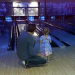 teaching a new bowler with the ramp