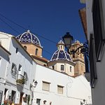 Amazing church and rewarded with stunning views from Altea Old Town.