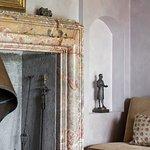 Giovio Hall fireplace