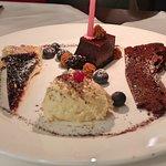 yummy dessert sampler