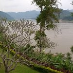 Direct view on the garden and Mekong river