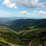 Amazing view over Sani Pass
