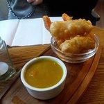 Fish goujon appetiser