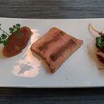 marbré de foie gras au pain d'épices