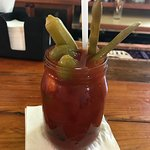 Yummy Bloody Mary loaded up