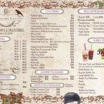 Latest menus