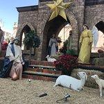 Nacimiento en el atrio dela catedral de San Juan de los Lagos