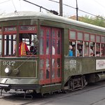 The B&B is very close to the St Charles Streetcar line.
