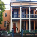 The Inn on Prytania St. all dressed up for St Patricks Day