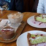 Gâteau cru kiwi avocat