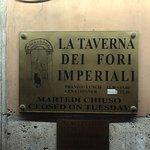 La Taverna dei Fori Imperiali