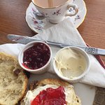 Delicious Devon Cream Tea on Easter Sunday