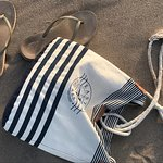 Beautiful nautical purse to carry all your necessities!  Visit eaternshoresapparel.com