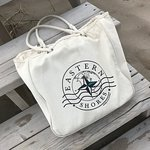 Organic Cotton Tote Bag - We love bringing ours to the beach!  Visit eaternshoresapparel.com