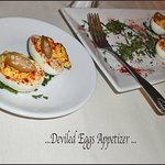 ... appetizer... deviled eggs ...