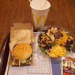 Dinner at McDonald's, S. 4th Avenue at West 26th St, Yuma, AZ.