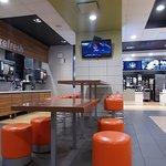 Soft Drink Bar at McDonald's, S. 4th Avenue at West 26th St, Yuma, AZ.