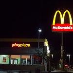 Night view of McDonald's, S. 4th Avenue at West 26th St, Yuma, AZ.