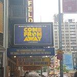 Come From Away a the Gerald Schoenfeld Theatre