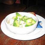 Ceviche made with Marlin.