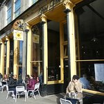 St Giles cafe entrance
