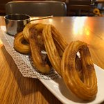 Churros (single portion believe it or not!)