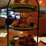 Wing Sampler includes Three Wing flavors of your choice.