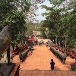 Leaving the jungle temple