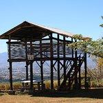 Las Penas Coffee Plantation - lookout view