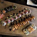 Tani.    Delicious sushi rolls