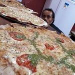 Pizza Capao Grande Foto