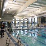 dive tank and lap pool