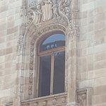 Ventana exterior con estilo barroco