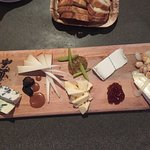 5 cheese plate