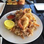 Calamari and Shrimp
