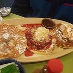 Pancake Flight -- Breakfast Delight!