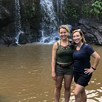 Leigh and our Guide, Jennifer.