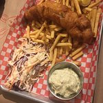Try jack's bar , it was great especially fish 'n chips