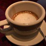 doppio espresso (too bitter)