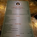 Our menu every day and we have specils every day  We are steps away from the beacon theatre