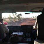 On our way to the remove Tali Wiru dinner location