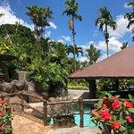 Bar at Lagos Resort and Spa and hot thermal water