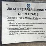 Photo of Julia Pfeiffer Burns State Park