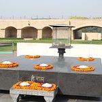 Raj Ghat - memorial dedicated to Mahatma Gandhi