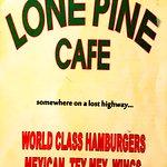Menu 2018 April (renamed Lone Pine, same owners, same Mexican)