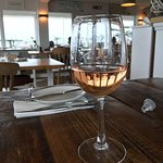 Glass of rose'