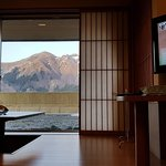 Japanese style room with terrace/balcony and nice view