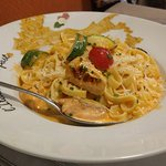 Salmone pasta