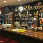 Your typical Irish pub setting