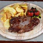 Rib Eye Steak with Homemade French Fries